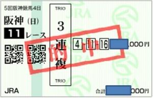 1214阪神11R3連複