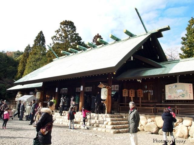 広田神社拝殿