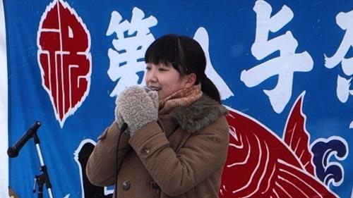 臼澤みさきちゃん 外山節ライブ1