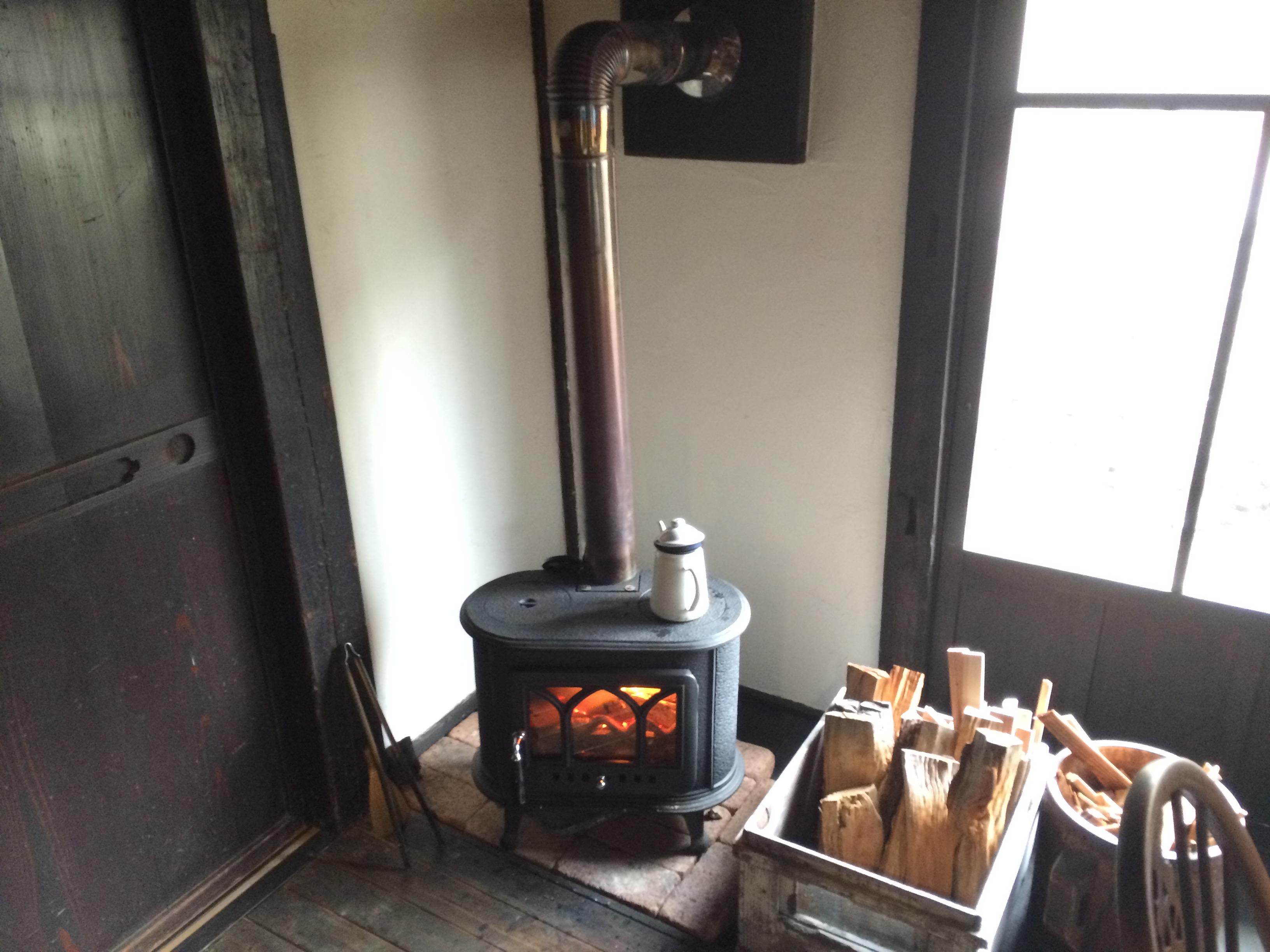 農と暦暖炉