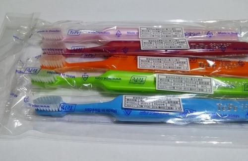 テペの歯ブラシ