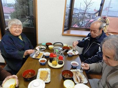 巻寿司3人
