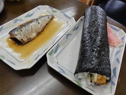 1巻寿司いわし