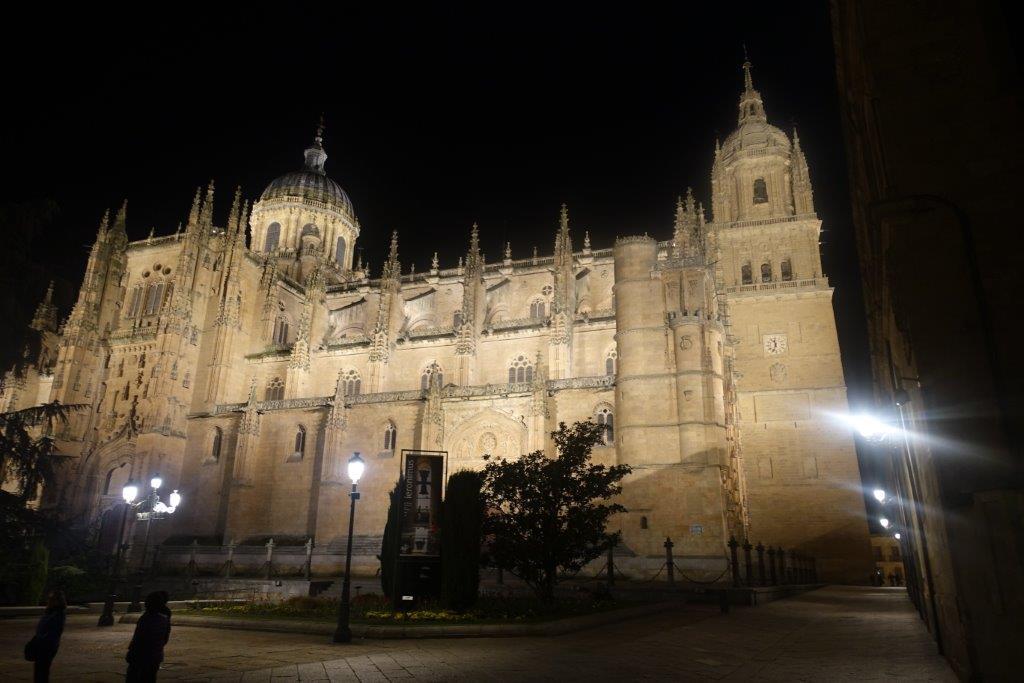 サラマンカ大聖堂夜