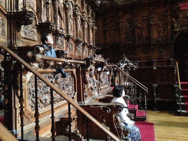 サラマンカ大聖堂特別席