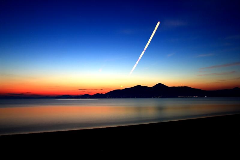 東の浜-2015-0525 朝日2