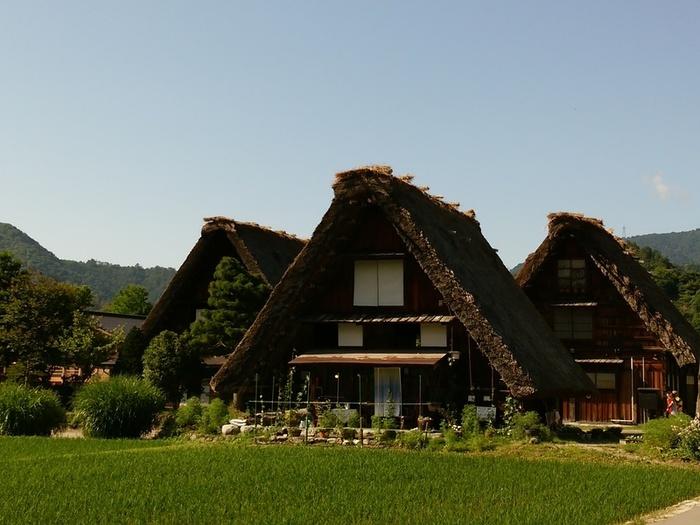 日本の元風景を感じる合掌風景が残る、自然いっぱいのロケーション白川郷 ⑥