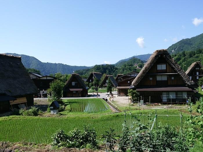 待ちに待った夏休みの世界遺産旅行!大自然を眺めながら、白川郷合掌集落へ ⑨
