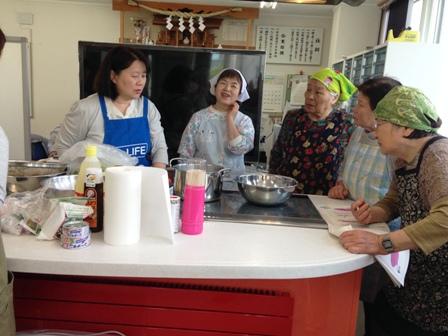 料理教室(父の日料理) (3)