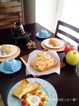 ココナッツ風味のリンゴケーキ5