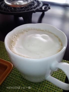 ふわふわミルクのせバニラフレーバーコーヒー