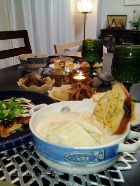 茅乃舎のお野菜だしで白菜のクリームスープ2