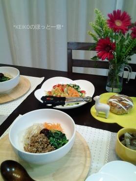 夜更けの4色おうちカフェ丼5