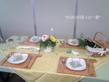 2015年イースターのテーブルコーディネート
