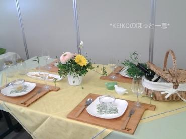 2015年イースターのテーブルコーディネート2