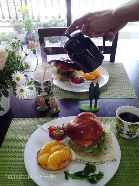 ハンバーガーモーニング3