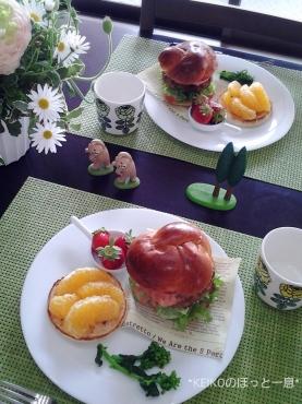 ハンバーガーモーニング5