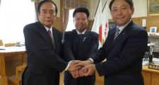 鈴木と上田と志木市長