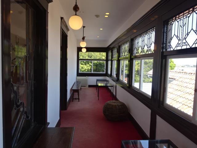 大磯迎賓館 2階廊下