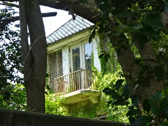 旧池田成彬別荘 バルコニー
