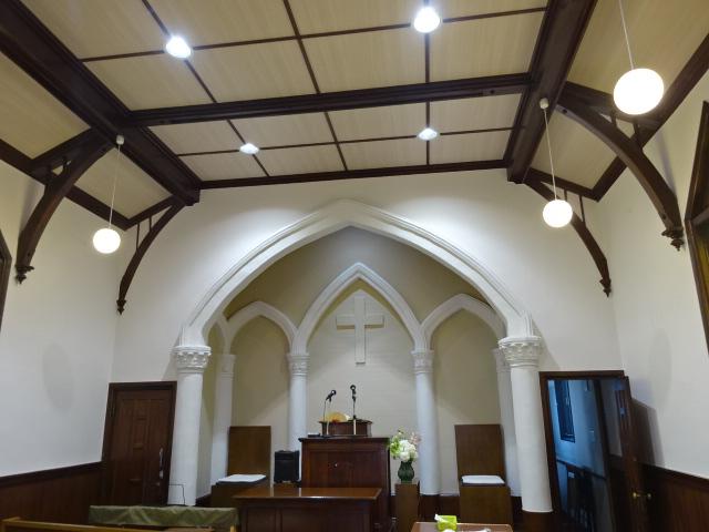 大磯教会 内部