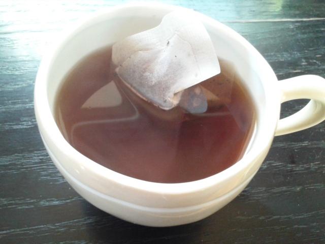 スルスル茶 5分後