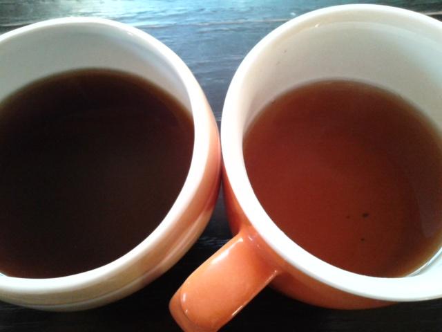 スルスル茶 1杯目と2杯目