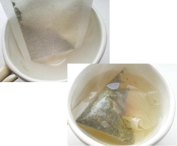 キャンデト茶 お湯を入れる前