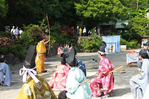鎌倉宮・草鹿式