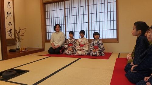 北崎保育園 お茶会 (2)