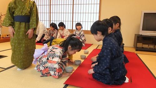 北崎保育園 お茶会 (3)