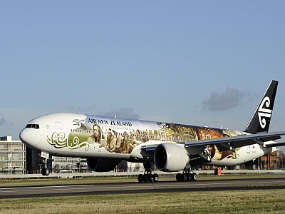 airnz hobbit plane