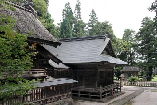 秋鹿神社本殿