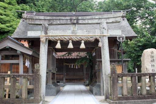 野波の日御碕神社