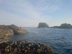 2015.7.12 サザエ本島からフタメ方向