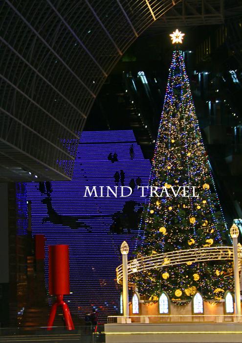 京都駅ビル クリスマスイルミネーション 2014