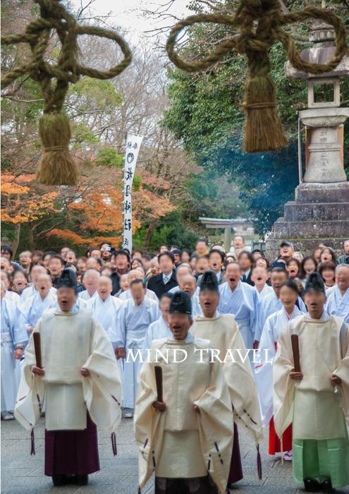 枚岡神社 お笑い神事