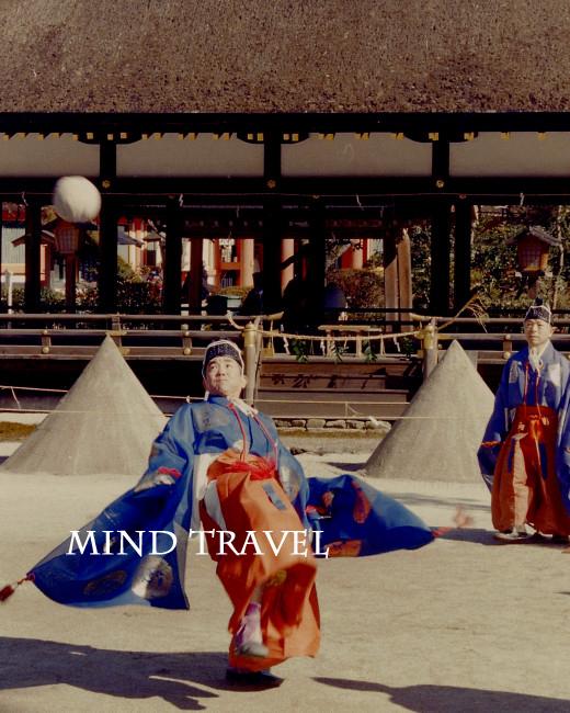上賀茂神社 紀元祭 蹴鞠