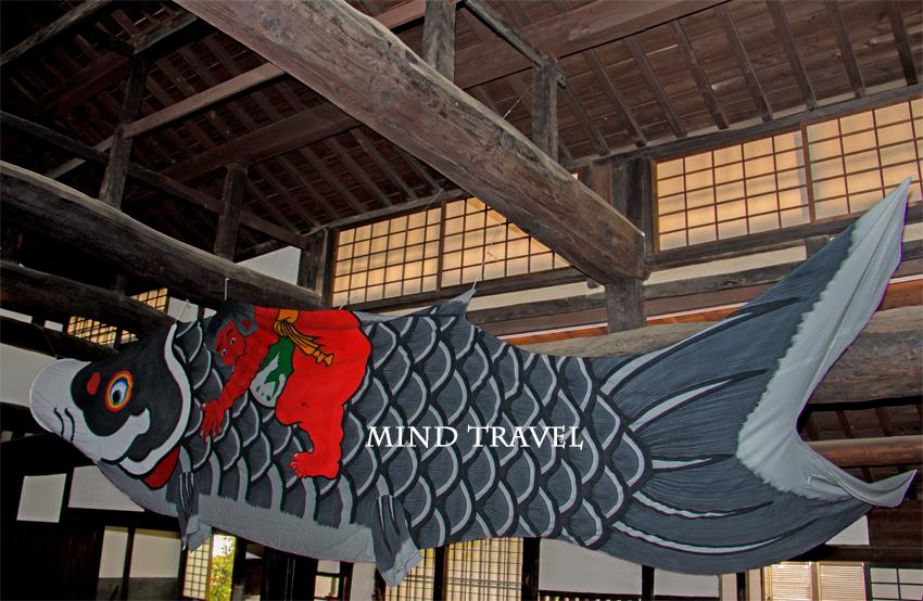 山口家住宅-鯉のぼり