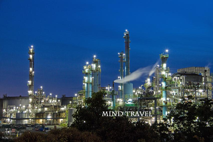 堺泉北臨海工業地帯 夜景