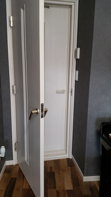 レッスン室ドア
