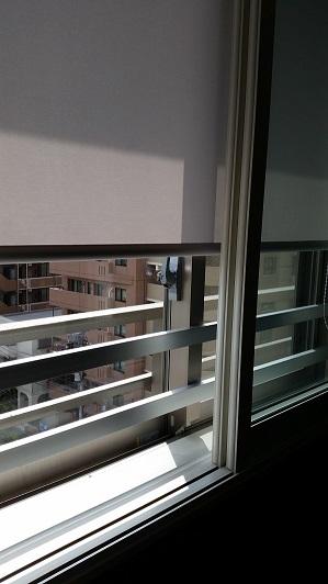 レッスン室窓