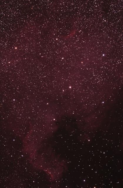 NGC7000_北アメリカ星雲_白鳥座_20150426M_874896x20x49m
