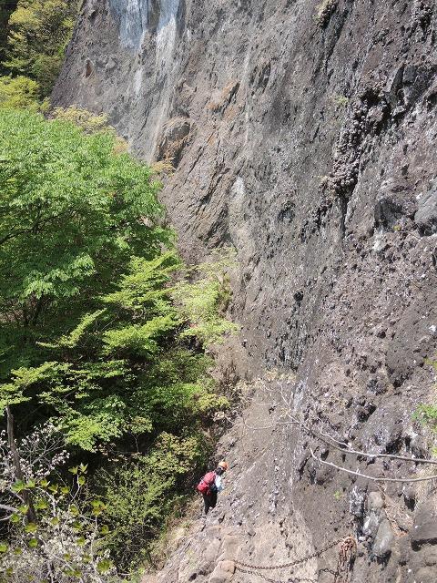 赤岩トラバース