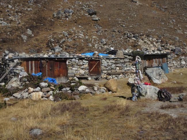 パンペマ小屋