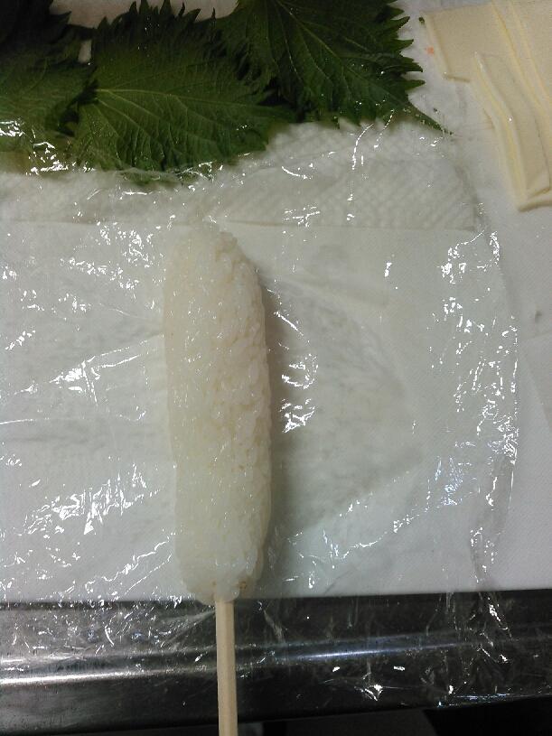 肉巻きご飯手順4