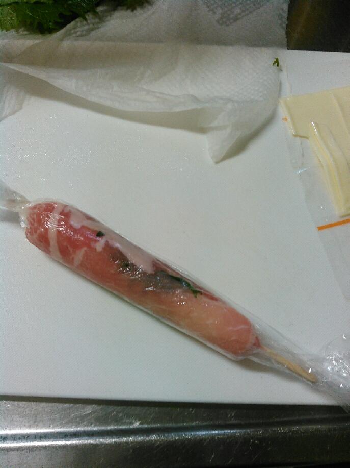 肉巻きご飯手順5
