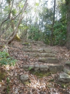 天神様前の階段