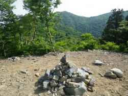 御殿山からの武奈ケ岳
