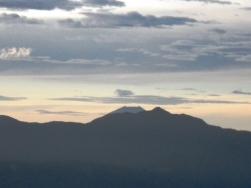 塩見岳と富士山